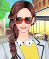 Bright Yellow 2 Dress Up Game