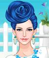 Blue Rose Dress Up Game