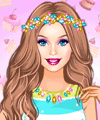 Barbie Trend Alert Candy Looks Dress Up Game