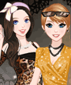 Super Party Girls Dress Up Game