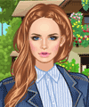 On the Farm Style Dress Up Game