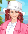 Pink Spring Dress Up Game