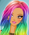 Colorful Hair Dye Makeover Game