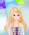 Jumping in the Rain Dress Up Game