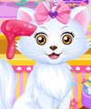 Princess Belle Kitten Caring Game