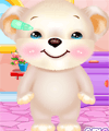 Cute Bear Salon Care and Dress Up Game