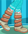 Moccasin Winter Boots Design