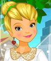 Tinker Bell Today Dress Up Game