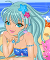 Beach Mermaid Dress Up Game