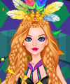 Mardi Gras Carnival Dress Up Game