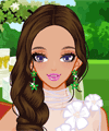 Floral Wedding Dresses Dress Up Game