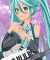 Hatsune Miku from Vocaloid Dress Up Game