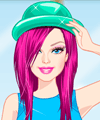 Barbie Ombre Style Dress Up Game