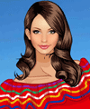 A Trip to Mexico Dress Up Game