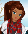 Lisas Winter Wardrobe Dress Up Game
