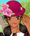 Long Haired Girl Dress Up Game