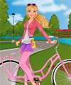Barbie Goes Cycling Dress Up Game