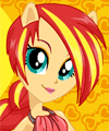 Sunset Shimmer My Little Pony Equestria Girls Dress Up Game