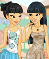 Sisters Shopping Trip Dress Up Game