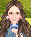Tiny Flowers Dress Up Game