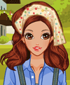 On the Farm Dress Up Game