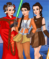 Star Wars Girls Hair Salon Game