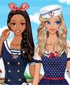 Nautical Girls Dress Up Game
