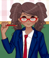 Anime School Girl Dress Up Game