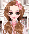Autumn Pretty in Pink Dress Up Game