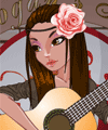 Me and My Guitar Dress Up Game