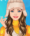 Scarf and Hat for Winter Makeover Game