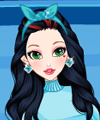 Teen Snow White Ice Skate Dress Up Game