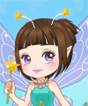 Little Flower Fairy Dress Up Game