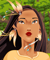 Noble Pocahontas Makeover Game