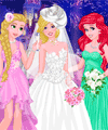 Princesses at Barbie Wedding