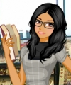 Librarian Chic Dress Up Game