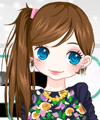 Contrast Colors Fashion Dress Up Game