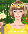 Barbie Secret Garden Dress Up Game