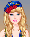 Barbie Glamping Dress Up Game