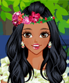 Floral Fashion Makeover Game