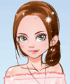 It Girl Cherry Blossom Dress Up Game