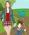 Mother and Daughter Dress Up Game