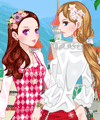 The Roses Girls Dress Up Game