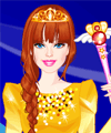 Barbie Wind Princess Dress Up Game