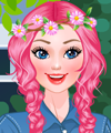 Barbie Pretty in Pink Dress Up Game