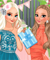 Frozen Sisters Birthday Party Dress Up Game