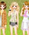 Paris Girls Dress Up Game