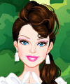 Barbie White Swan Dress Up Game