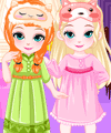 Frozen Baby Sisters Bedtime Game