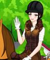 Princess Irene Goes Horse Riding Dress Up Game